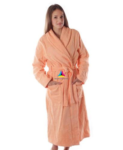 халат махровый женский